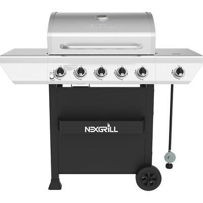 Nexgrill Propane Gas BBQ Grill 55,000 BTU 5-Burner Stainless