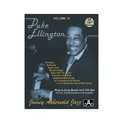 Jamey Aebersold Duke Ellington Play-Along Book and CD Duke Ellington Music Book