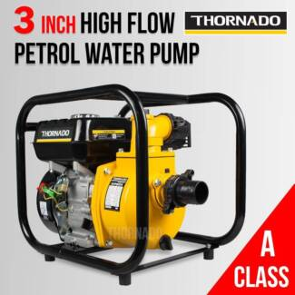 THORNADO 3 Inch Petrol Water Transfer Pump Irrigation Pump Chipping Norton Liverpool Area Preview