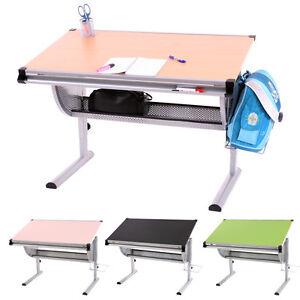 Bureau enfant oxford ergonomique plateau inclinable - Bureau reglable en hauteur ergonomique ...