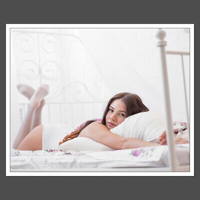 Hot 8x10 Photo College Girls Love Sign Pretty Adult Model D3641