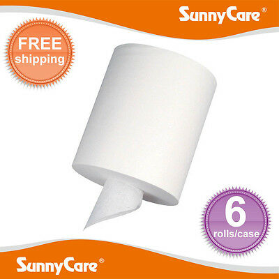 Sunnycare 5502 Center Pull Paper Towels 2-ply 320sheetsroll 6 Rolls