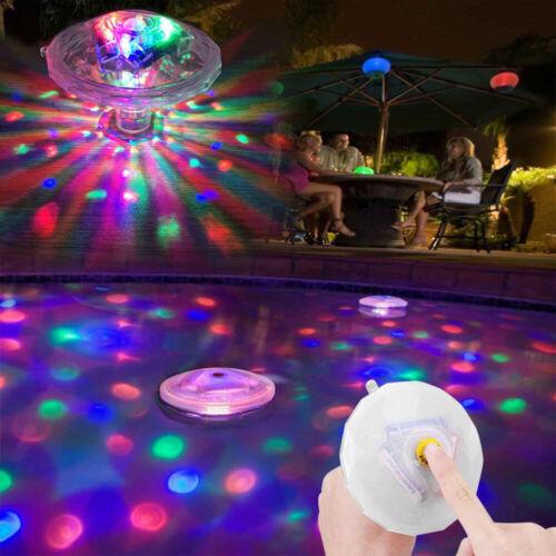 Solar Float Pool Licht f/ür Unterwasser Leuchten Schwimmbad Whirlpool Spa Lampe Schwimmbad Wasserpark Wasserdichtes Solar Wasser Drift Lampe