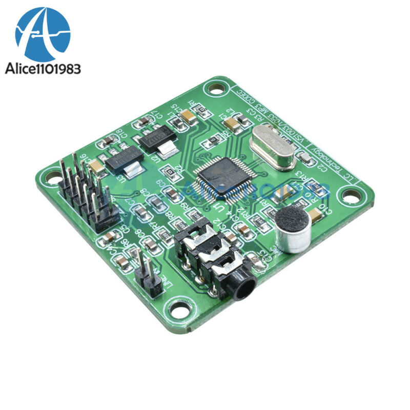 Vs1053 Mp3 Module Development Board W/ On-board Recording Function Spi Interface