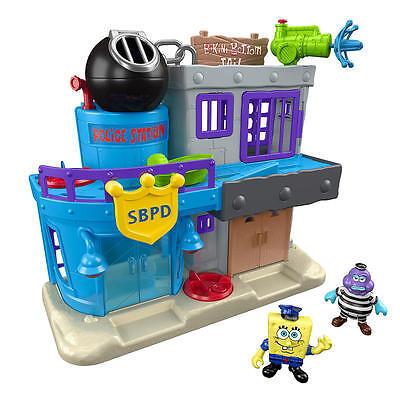 Fisher-Price Imaginext SpongeBob Bikini Bottom Police Station and Jail