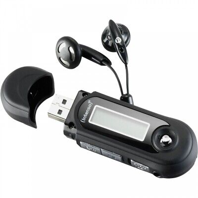 Intenso Music Walker MP3-Player USB 2.0 8GB WMA batteriebetrieben schwarz ()