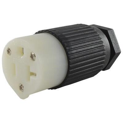 Conntek 60201 Replacement NEMA 5-15R / 5-20R 3 Prong 15 Amp Female Connector