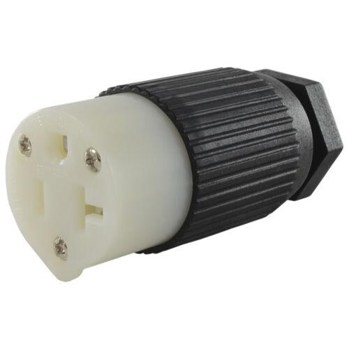 Conntek 60201 NEMA 5-15R / 5-20R 15/20 Amp 125 Volt Replacement Female Connector
