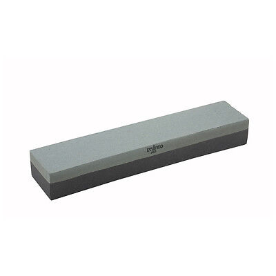Winco Ss-1211 12x2.5x1.5-inch Combination Sharpening Stone With Medium And Fine