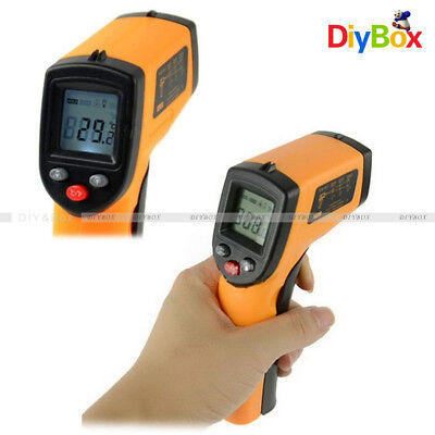 Non-contact Lcd Ir Infrared Laser Temperature Thermometer Gun Bady Thermometer
