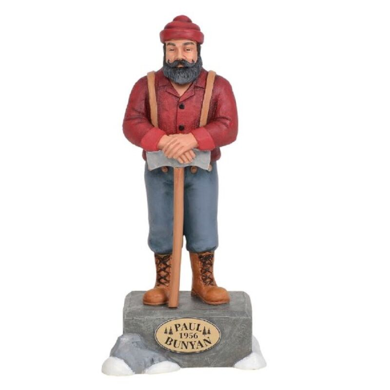 Department 56 Village Paul Bunyan Statue Accessory Figurine 6003173 New
