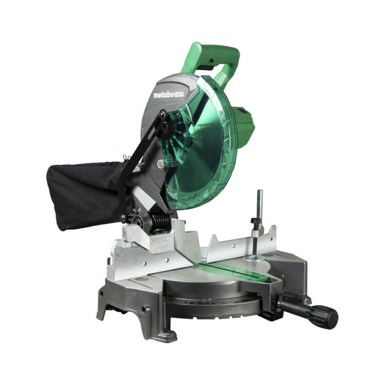 Metabo HPT C10FCGSM 15 Amp 10 in. Corded Compound Miter Saw Recon