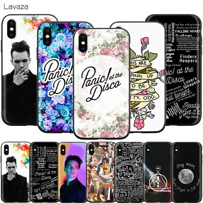 Panic! Panic At The Disco Phone Case for iPhone 11 Pro XS Max X XR 8 7 6 6s (Panic At The Disco Iphone 7 Case)