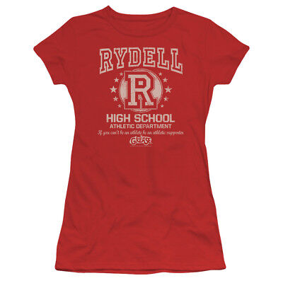 Grease Movie Rydell High Juniors Sheer T-Shirt Tee - Rydell High