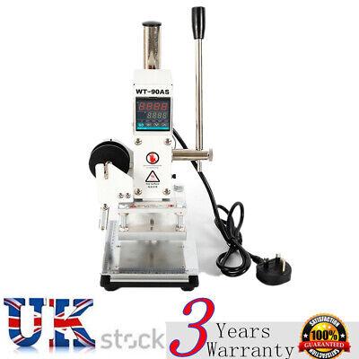 220v Manual Digital Hot Foil Stamping Machine With Foil Holder Tipper Stamper