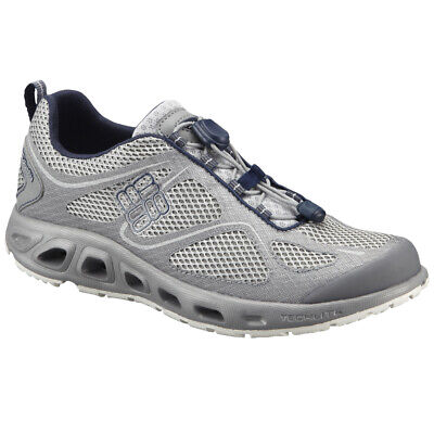 new style 317b2 f51c4 Columbia Powervent PFG Trail Running Shoes - 8 - Cool Gray Collegiate Navy