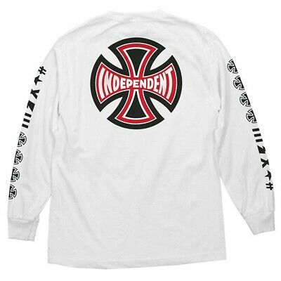 INDEPENDENT TRUCK FAMOUS LOGO men black white tshirt grphic tee 100/% cotton