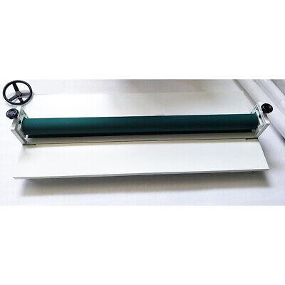 51 In Manual Vinyl Photo Film Roll Cold Laminator Laminating Machine 1300mm Us