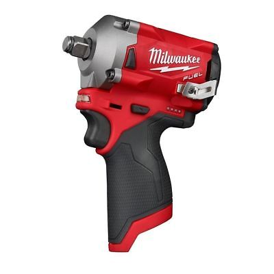 Milwaukee 2555-20 1/2 stubby 4 mode compact impact wrench fuel brushless (New)