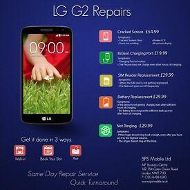 Same day LG G4 / G3 /G2 Nexus 5/4 Complete LCD Screen Digitiser Glass Repair Replacement Service