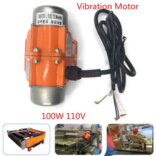 US AC30//40//100W Vibrating Asynchronous Vibration motor 110V 3600RPM HOT