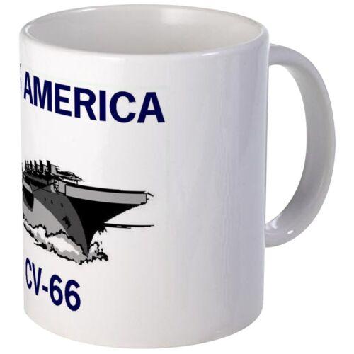 11oz mug USS America CV-66 Navy USA Coffee Cup (Ceramic)