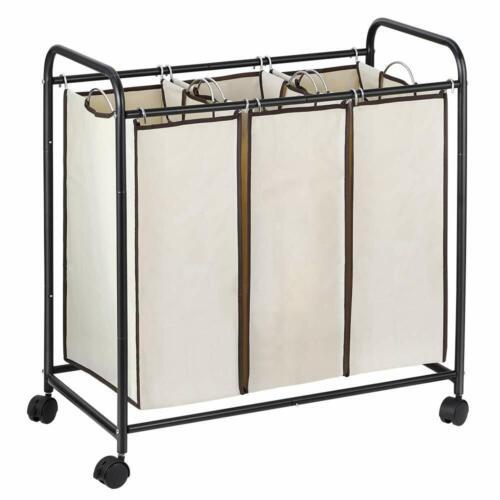 laundry basket bag organizer foldable washing 3
