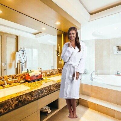 Plush Bath Robe Soft Cotton Terry Cloth Robes for Women Hooded Kimono Bathrobe Hooded Kimono Robe