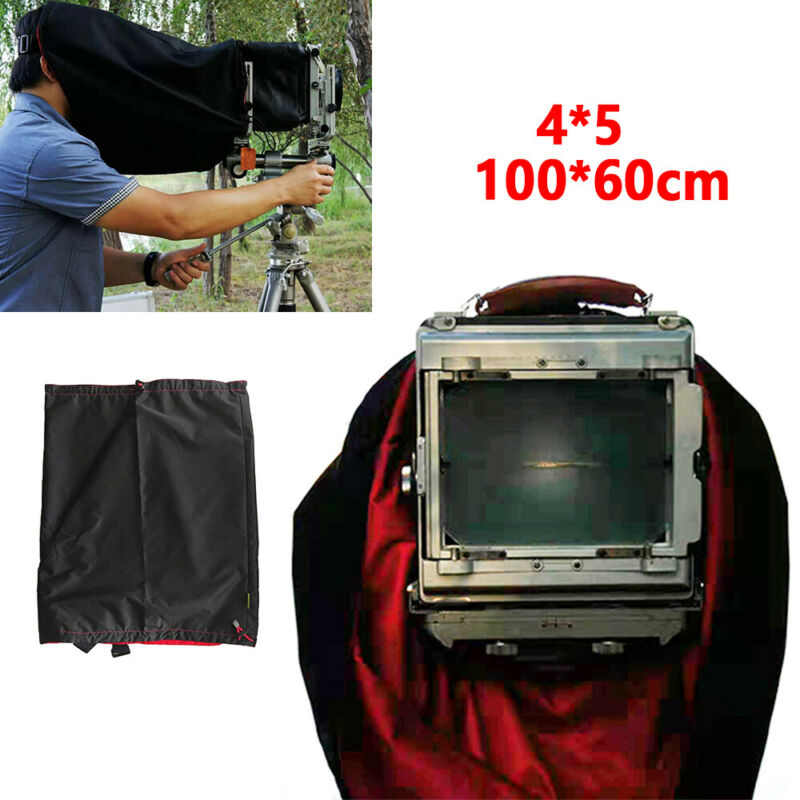 Dark Cloth Focus Hood For 4x5 Large Format Camera Wrapping 100cm Waterproof FAST