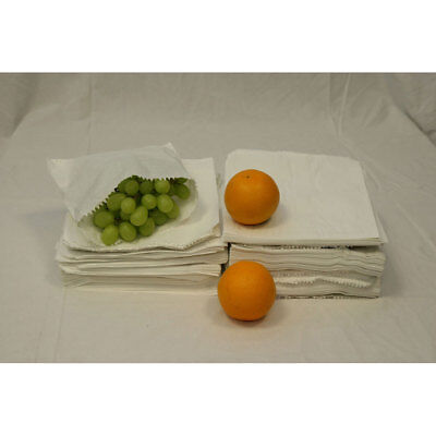 White Sulphite Strung Paper Food Bags for Sandwiches Groceries (7