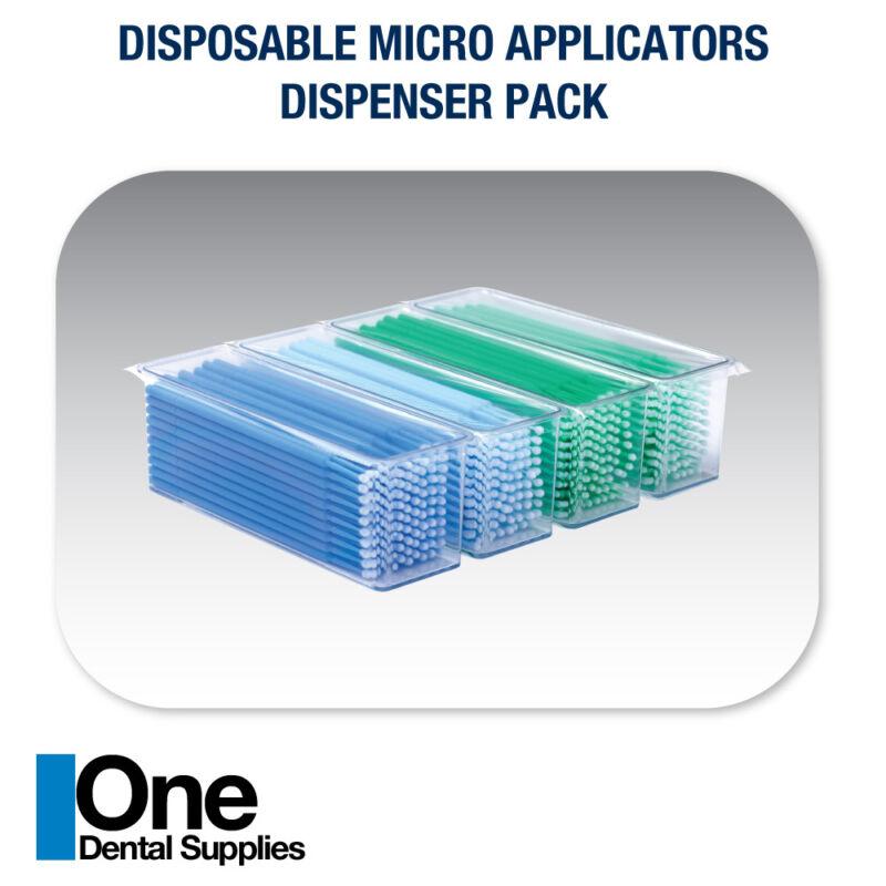 Dental Disposable Micro Applicator Brushes Dispenser Pack 4000 pcs