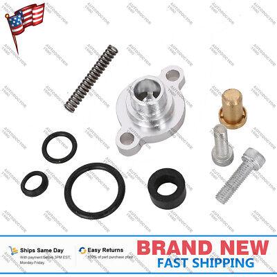 For Ford E/F-350 7.3L Diesel Fuel Pressure Regulator Billet Valve Cap Kit CM5016