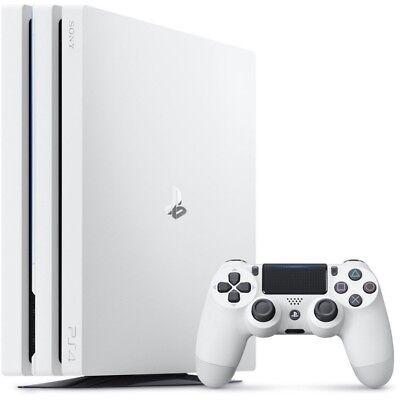 Sony Playstation 4 Pro PS4 Pro white 1TB Videospielekonsole Spielekonsole WOW!
