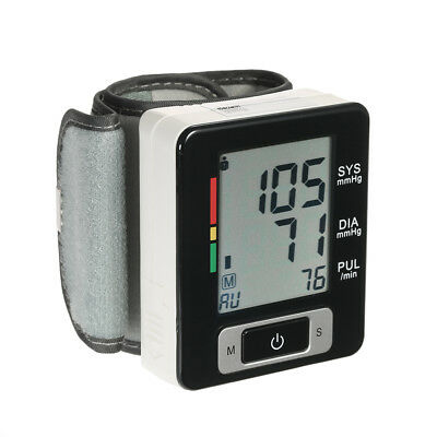 AlphaMed Auto Blood Pressure Monitor Pulse Rate Heart Beat M
