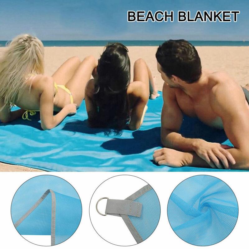 Large Beach Picnic Mat Waterproof Anti-Sand Blanket Travel S