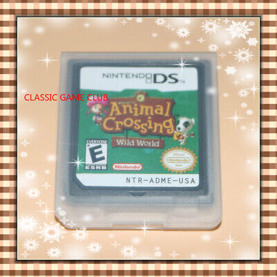 Animal Crossing: Wild World (Nintendo DS, 2005) Game Only for DS / DSi / 3DS XL