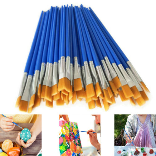 32pcs Artist Paint Brushes Set Acrylic Oil Watercolour Painting Craft Art Model