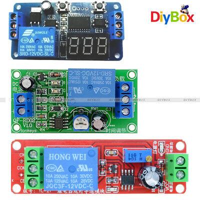 Dc 12v Ne555 Delay Time Relay Timer Switch Adjustable Digitla Led Module Diy