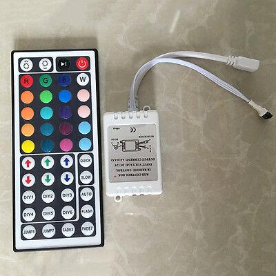 44 Key IR Remote Controller RGB Control Box DC12V For LED 3528/5050 Strip Light