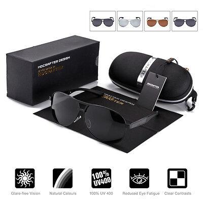 Aviator Sonnenbrille (Herren Sonnenbrille Polarisiert Aviator Brillen 100% UV 400 Pilotenbrille)