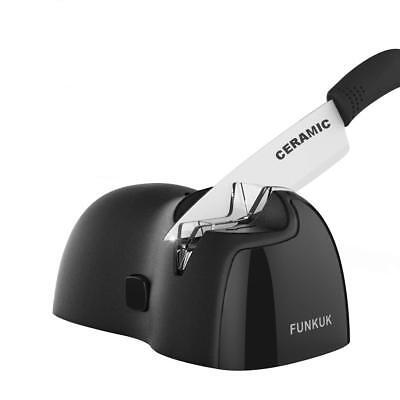 Electric knife sharpener, kitchen knife sharpener electric for CERAMIC, (Ceramic Electric Knife Sharpener)