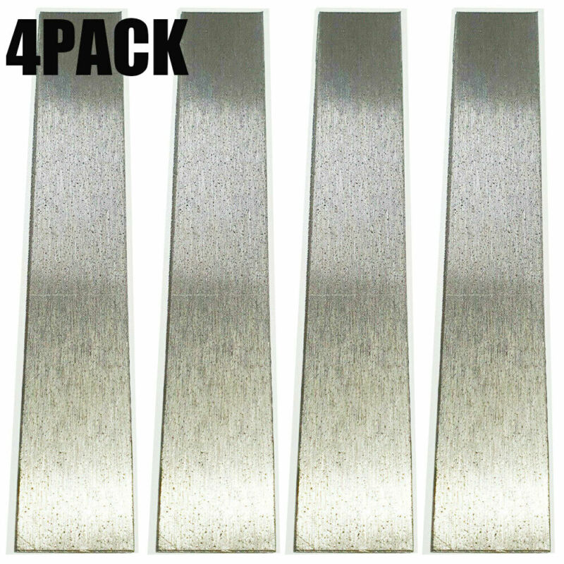 "4PACKS Pure Nickel Anode 6"" x 1"" Plating Bright Nickel Jewelry Rectifier USA"