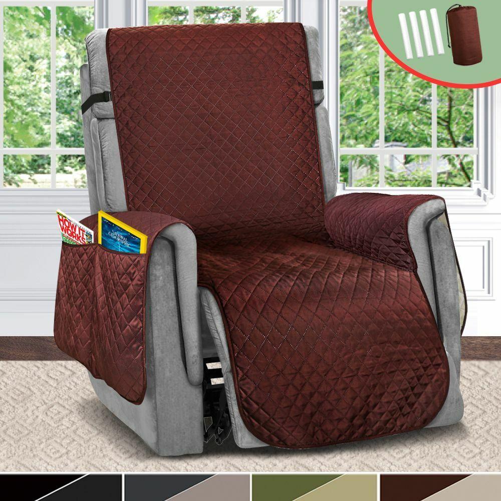Recliner Sofa Covers Pet Dog Kids Mat Furniture Protector Li