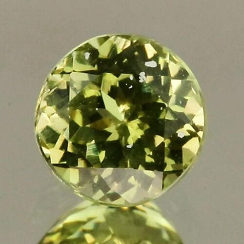 Video 0.61cts Natural Grossular Garnet Brazil Vivid Greenish Yellow Hue GM826