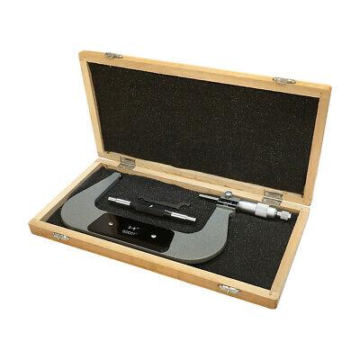 Digital Outside Micrometer Range 5-6 Inch Graduation 0.0001 Inch Ratchet Stop