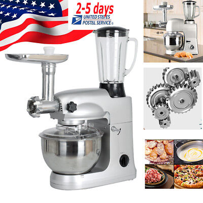 Multifunctional Stand Mixer 5L Food mixer Meat Grinder splatter-free mix1000W