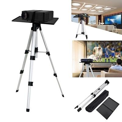 """Height Adjustable Video Laptop Projector Tripod Style Floor Stand Mount 20""""-55"""""""