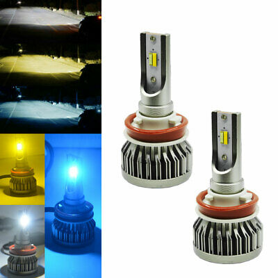 Triple Color Switchback LED Bulbs High Power For Fog Daytime Driving DRL Lights](Led Ice Cube Lights Wholesale)