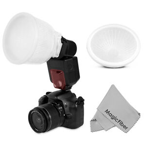 Universal-Cloud-lambency-flash-diffuser-White-dome-cover-Fits-all-flashes