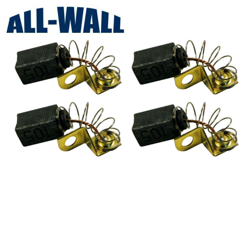 4-Pack Motor Brushes for Porter-Cable 7800 Drywall Sander - N119739 / 879058